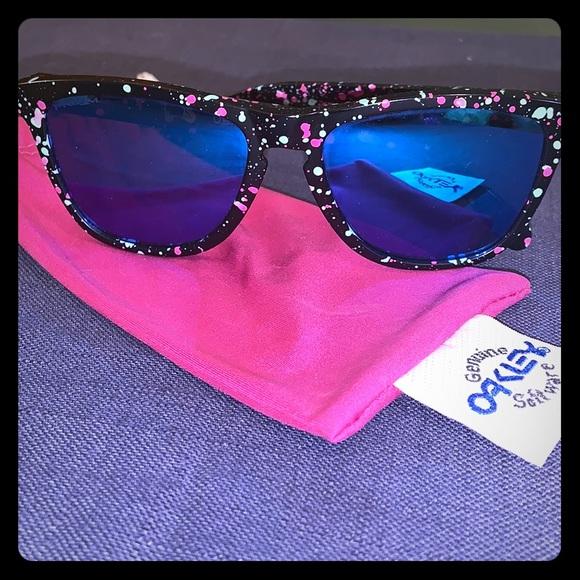 660460fdf9 Oakley Accessories | Frogskins Splatterfade Sunglasses | Poshmark